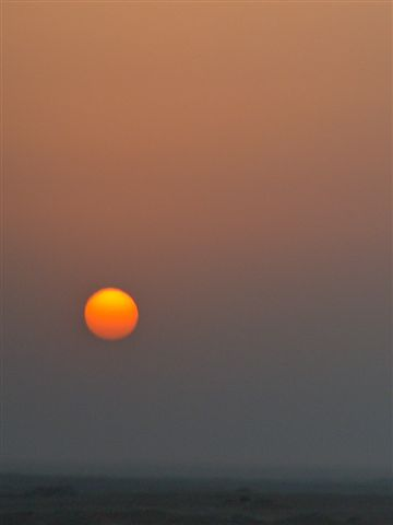 the sun continued